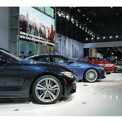 Revving up for #NYIAS. #BMWNYIAS - photo from bmwusa