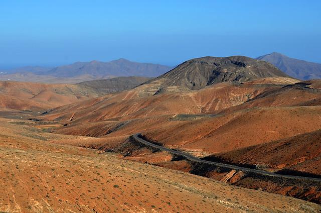 Orange hills, Fuerteventura