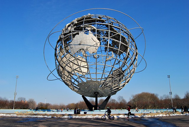 The Unisphere In Flushing Meadows Corona Park Queens New York Flickr Photo Sharing