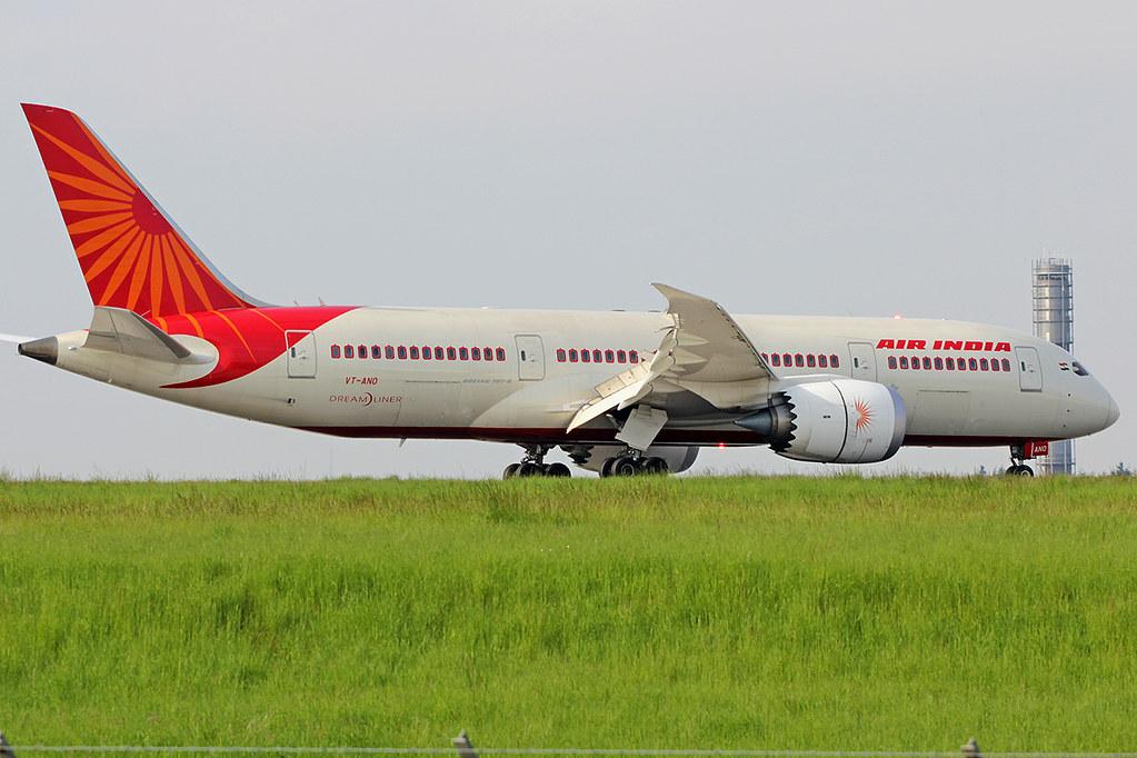VT-ANO - B788 - Air India