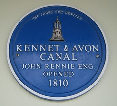 Photo of John Rennie blue plaque