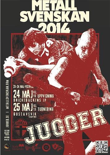 Jugger på Metallsvenskan 2014