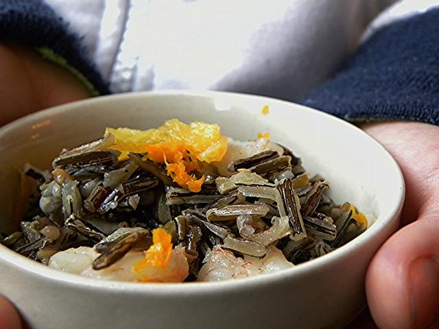 insalata di riso sevaggio canadese con gamberi e arance (2)