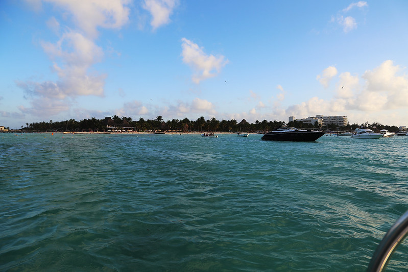 Isla Mujeres and Boat