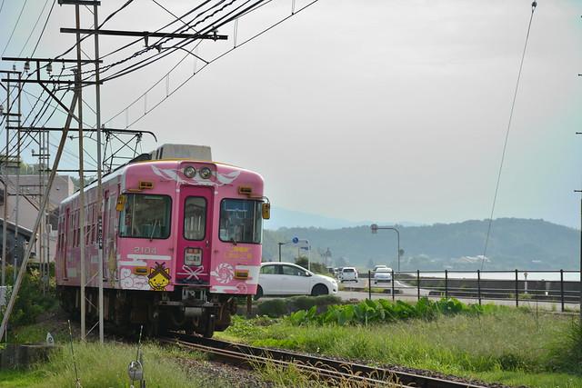 一畑電車「しまねっこ」号