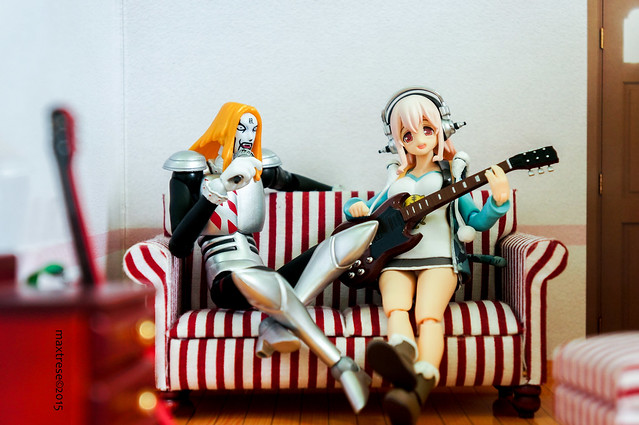 Krauser and Sonico collaboration