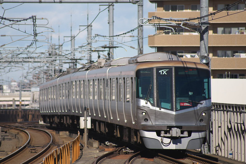Tokyo Train Story つくばエクスプレス 2015年1月31日
