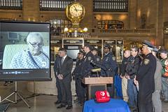 Presser: Cardiac Save at Grand Central Terminal