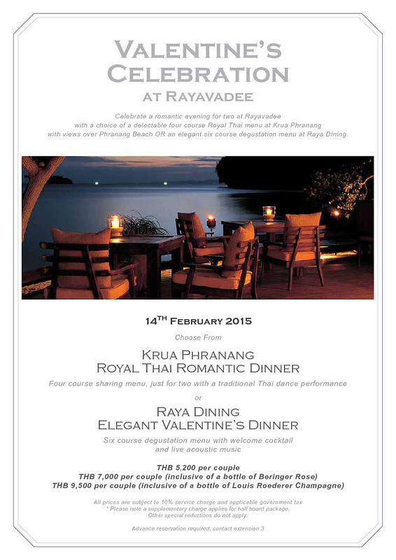 Rayavadee Valentine's Day