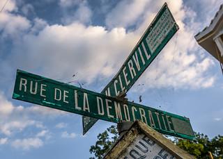Rue de la Democratie