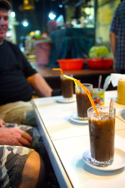 Mr. Bunnareth, Toul Tom Pom (Russian Market), best iced coffee in Phnom Penh, Cambodia