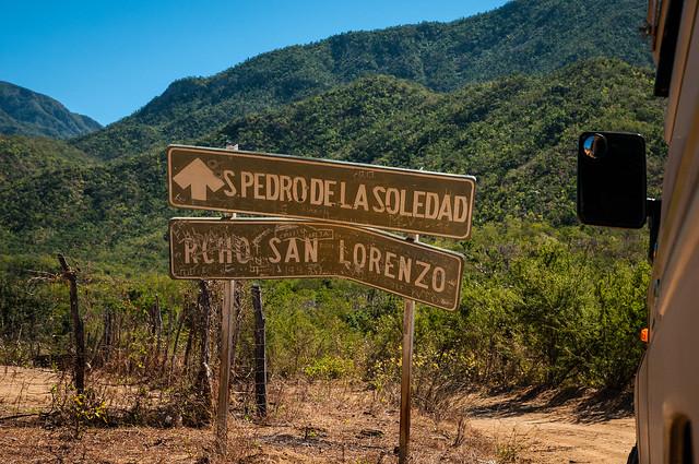 Heading to San Pedro de la Soledad