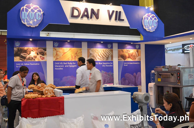 Dan Vil Trade Show Booth