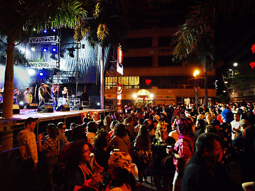 Street party, carnival, Santa Cruz, Tenerife