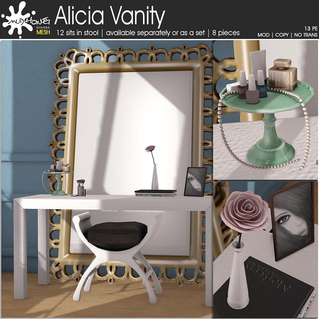 mudhoney alicia vanity