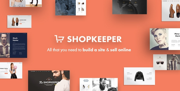 Shopkeeper v1.7 - Responsive WordPress Theme