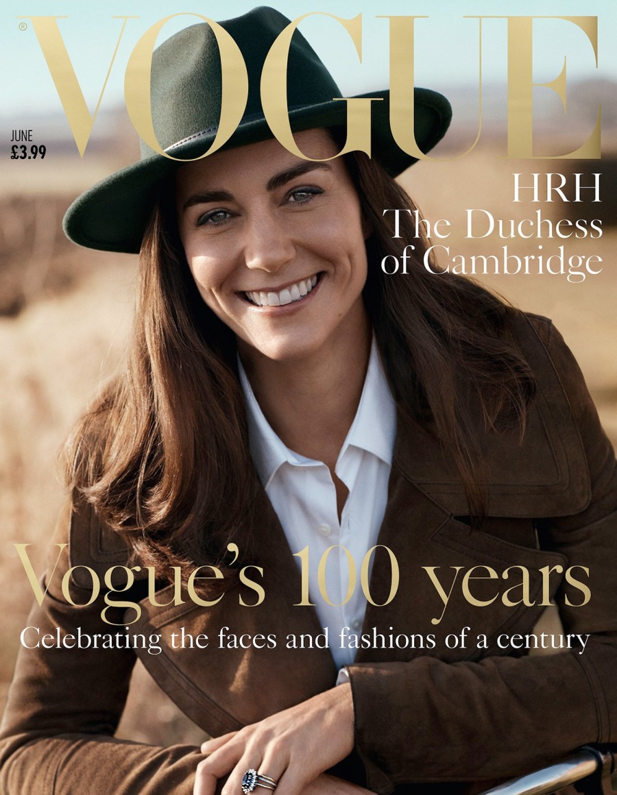 Kate Middleton June 2016 Vogue UK Cover