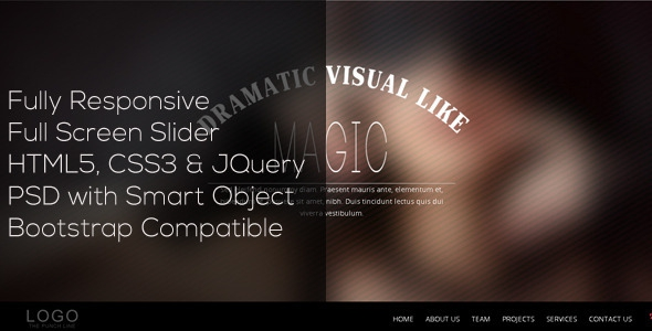 Blur v1.0 - Single Page Responsive Template