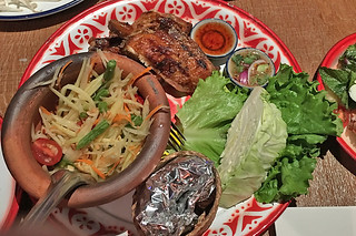 Saap Ver - Som Tum Thai Chicken