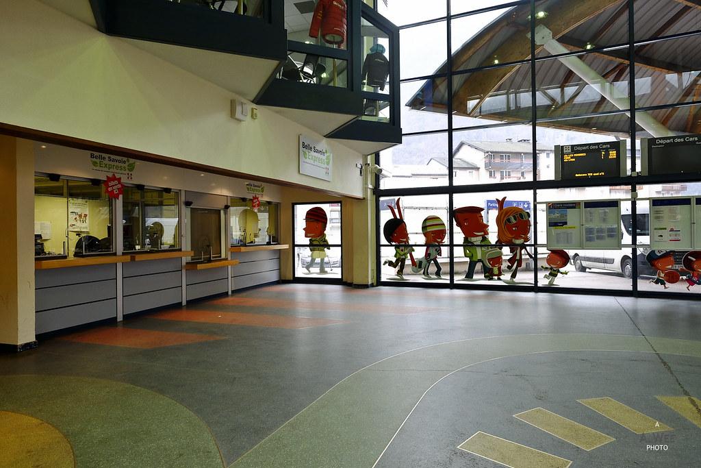 Inside Gare Routière