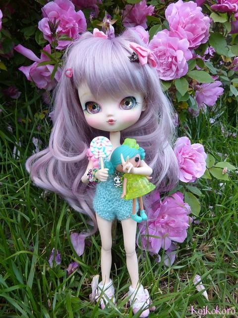 Les Vinyls de Koikokoro~Ileana, little vampire (Icydoll) 26821586326_479e16c543_z