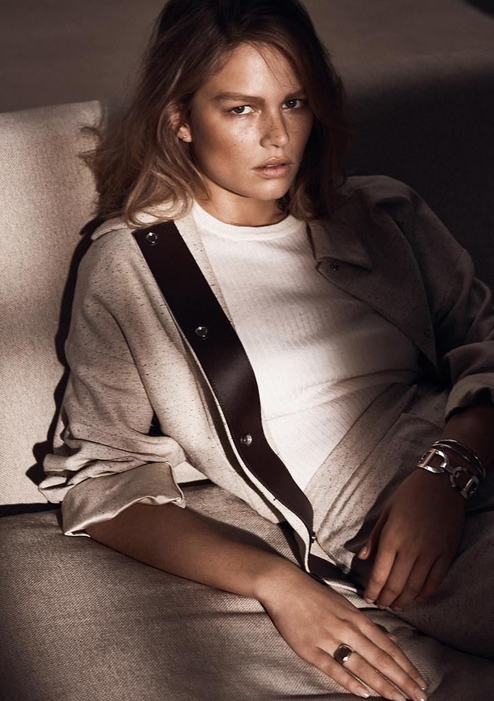Анна Эверс — Фотосессия для «Vogue» UK 2016 – 6
