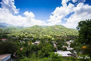 View fom Papine's heights, Kingston / Vue depuis les hauteurs de Papine, Kingston