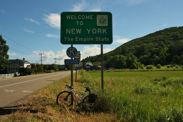 Cycling across PA and NY