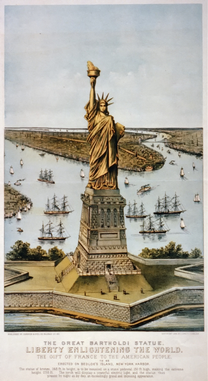 what does the statue of liberty represent to immigrants