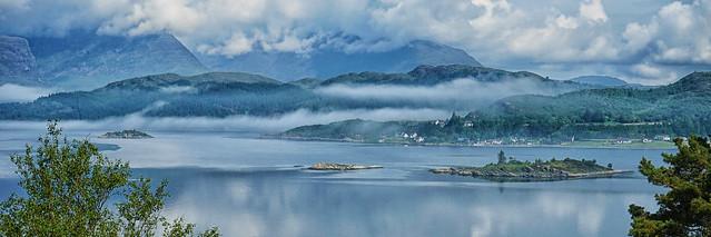 Misty Morning, Loch Carron
