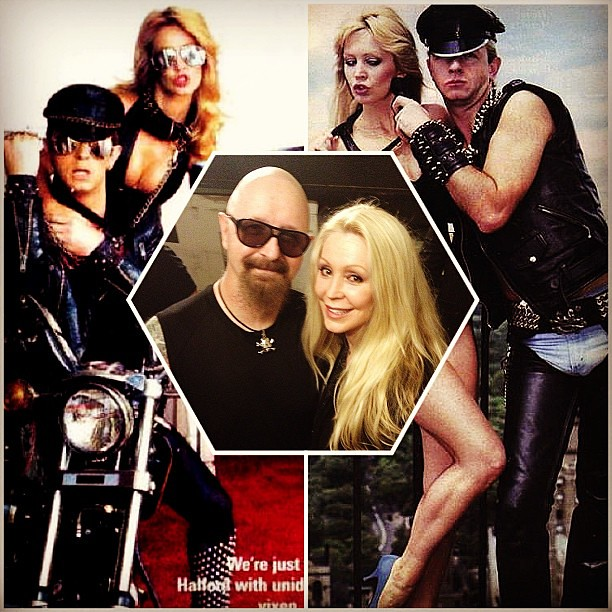 Cheryl Rixon Rob Halford The reunion