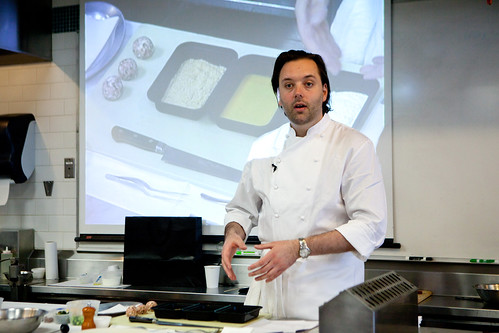 Working with British Classics, Corton Style, class led by Chef Paul Liebrandt