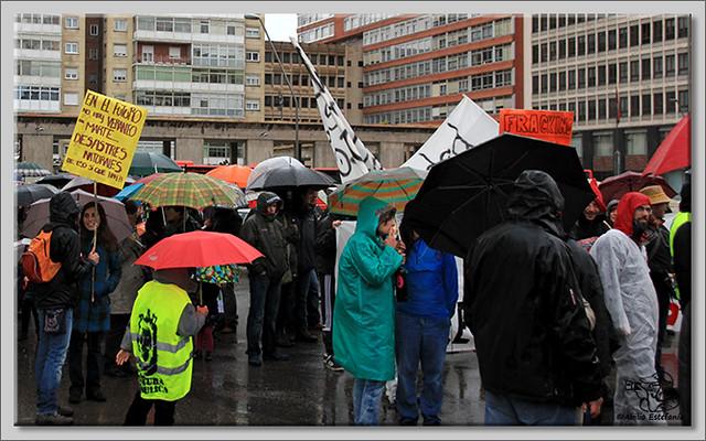 10 Manifestación contra el fracking en Burgos