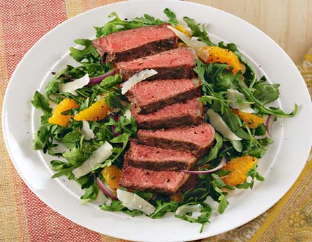 Kansas City Strip Steak Salad