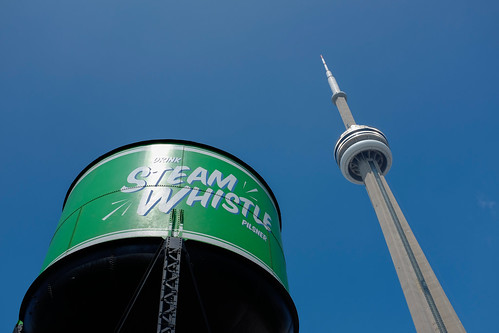Steam Whistle Brewery in Toronto, Canada.