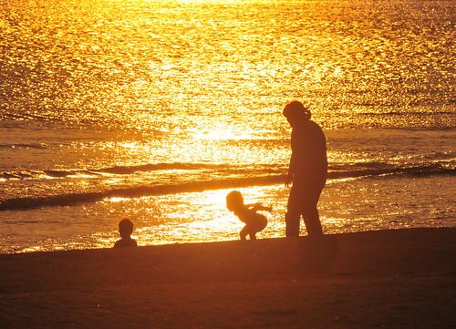 ocean sunset silhouette japan nikon shimane izumo 70200mm 1208 inasa d300s inasabeach