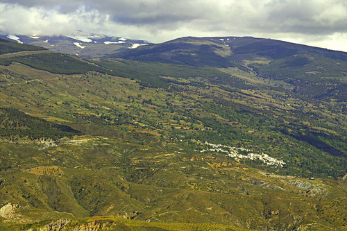 La Alpujarra seen from El Cerrajón