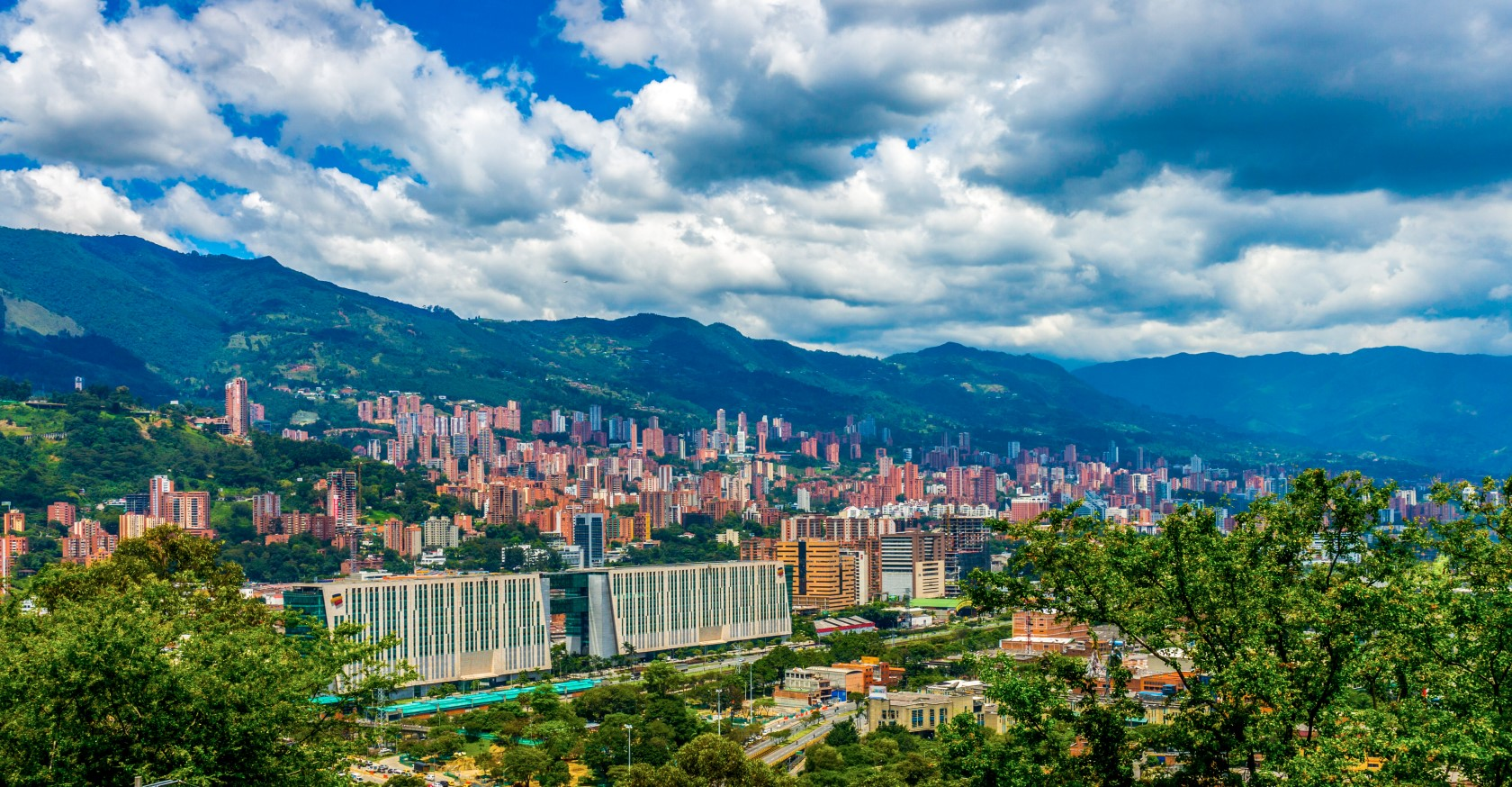 Elevation Of Medellin Antioquia Colombia Topographic
