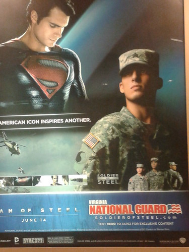 Man of Steel - National Guard ad