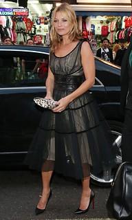 Kate Moss Sheer Dress Celebrity Style Women's Fashion