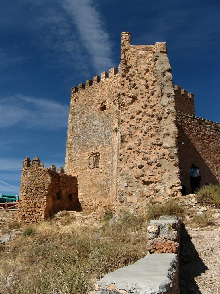Castillo de Peñarroya, en Argamasilla de Alba. Autor, M. Peinado