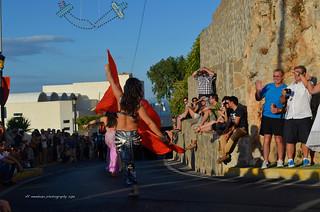 Fiesta de moros y cristianos, Almeria /Mojacar 2013/ Spain