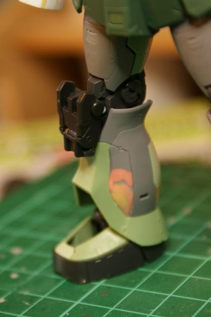 Real Grade - MS-05L Zaku I - Sniper Type - WiP 7 -
