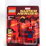 San Diego Comic Con 2013 LEGO Exclusive Minifigure - Spider-Man