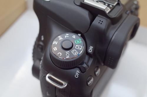 Canon EOS 70D dial