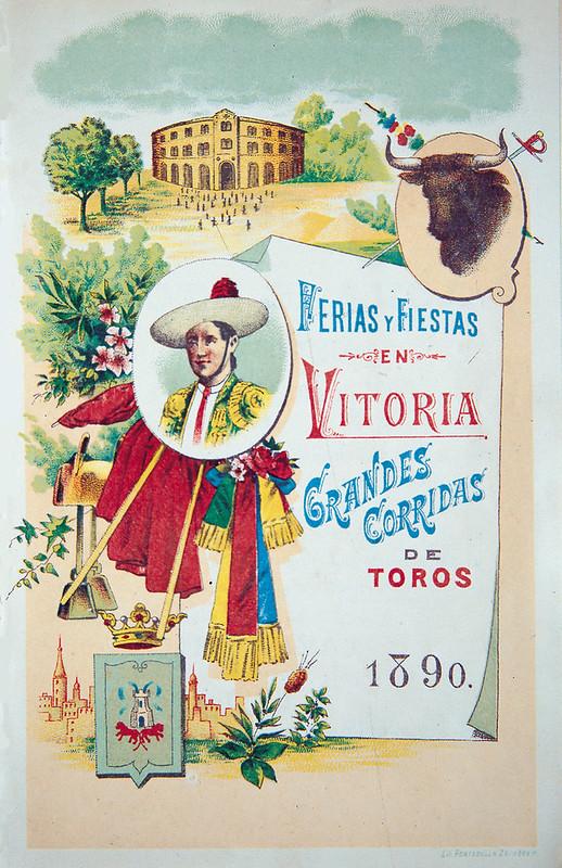 Carteles de Fiestas de Vitoria