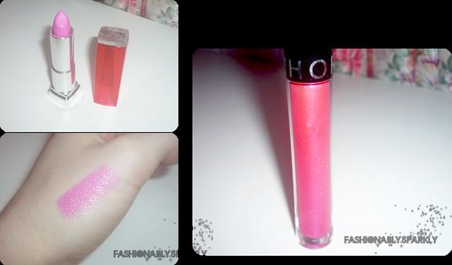 lipgloss+lipstick
