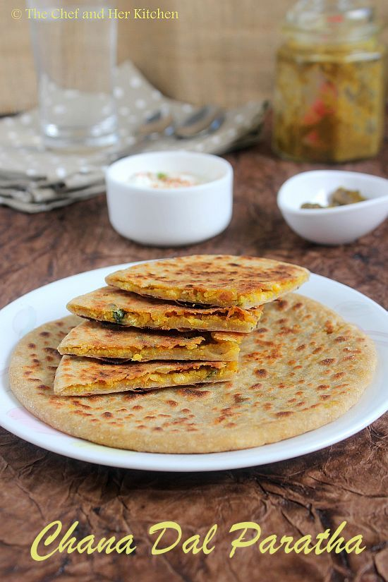 Chana Dal Paratha | Stuffed Paratha Recipes
