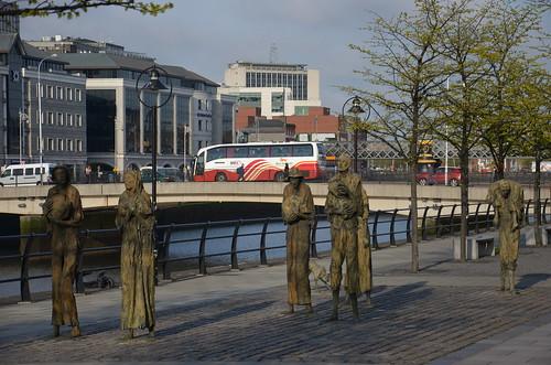 Skulpturen zur Erinnerung an die Hungersnot von Irland