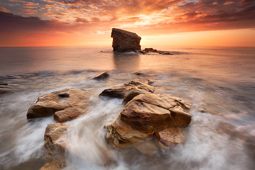 seascape sunrise coast rocks northumberland seatonsluice nd09 collywellbay charleysgarden canonef1740mmƒ4lusm gnd075he gnd045se